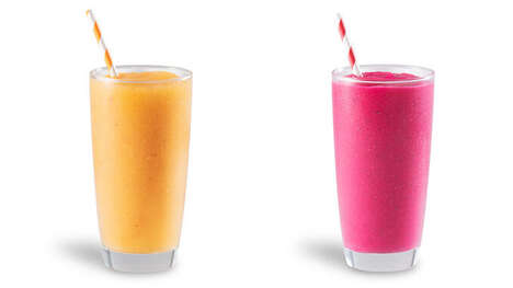 Exotic Fruit-Infused Smoothies
