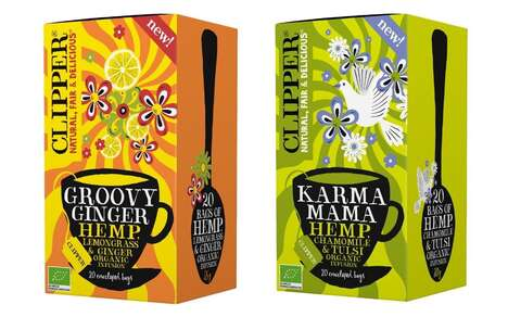 Organic Hemp-Infused Teas