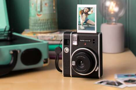 Retro-Styled Instant Cameras