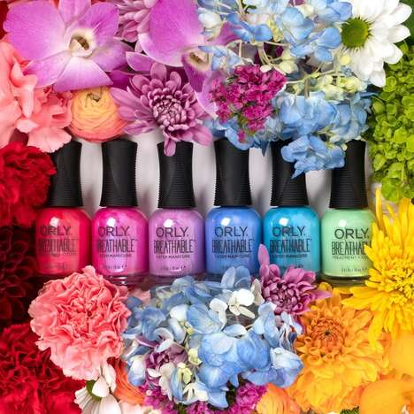 Breathable Springtime Nail Polishes