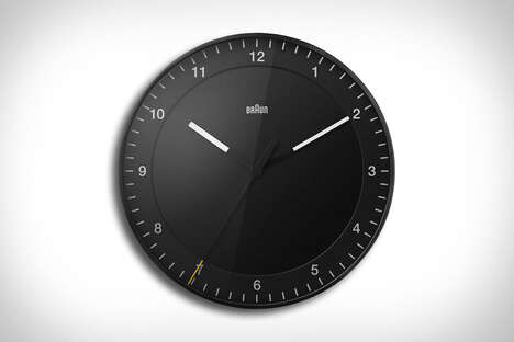 Minimally Modern Wall Clocks