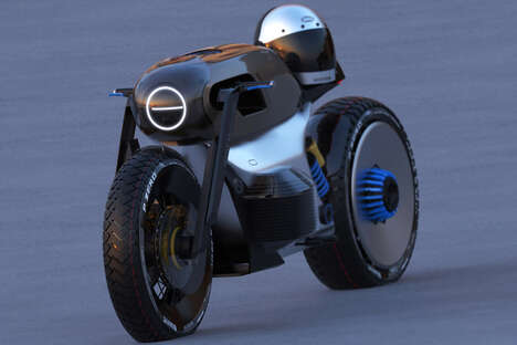 Urban Electric Cafe Racers