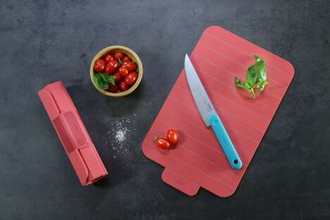 Rollable Kitchen Preparation Boards