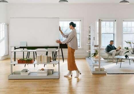 Flexible Orientation Office Furniture