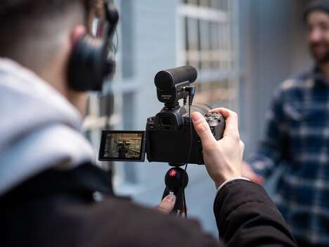 Directional External Videographer Microphones