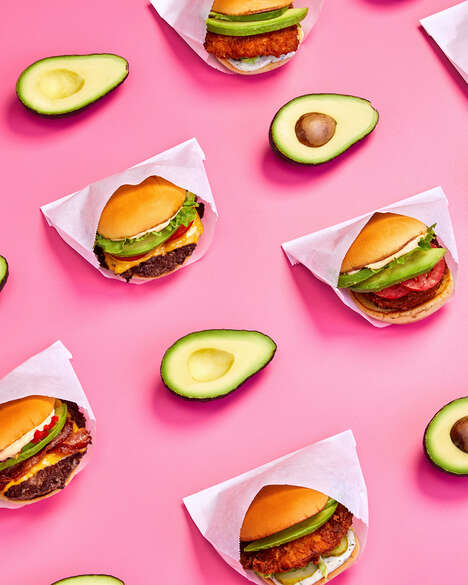 Elevated Avocado Bacon Burgers