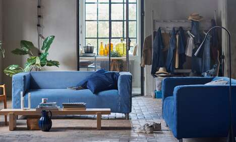 Upcycled Denim Sofas