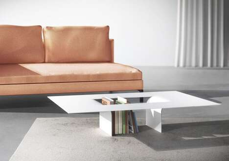 Cutout Interior Coffee Tables