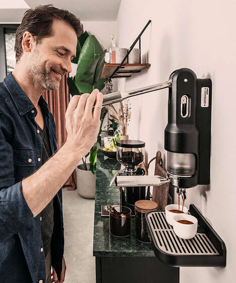 Mountable Manual Espresso Makers