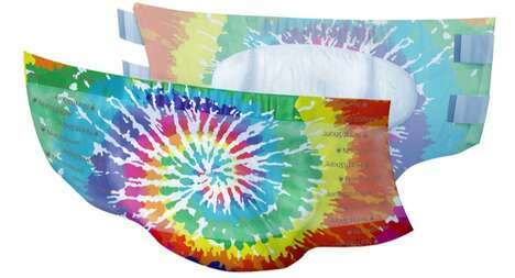 Tie-Dye Incontinence Products