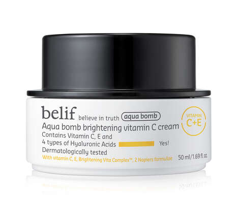 Cooling Vitamin-Rich Face Creams