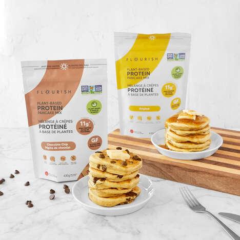 Plant-Based Pancake Mixes