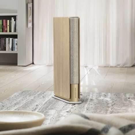High-End Book-Shaped Speakers