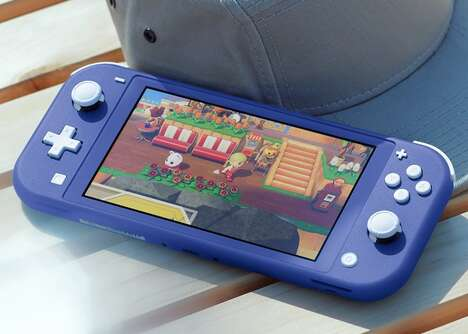 Vibrant Handheld Gaming Consoles