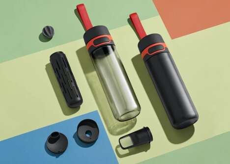 Anti-Contamination Water Bottles