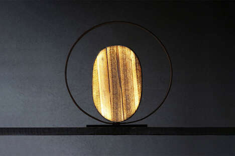 Discarded Banana Fiber Illuminators