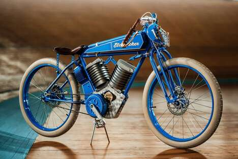 Vintage-Inspired Electric Bikes