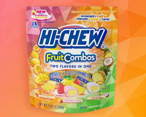 Chewy Dual-Flavor Candies