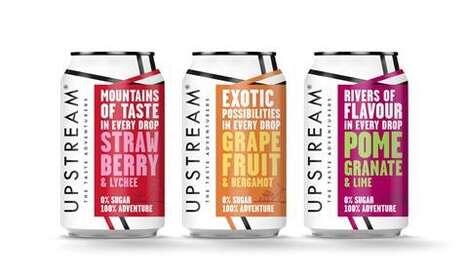 Typographical Soda Branding