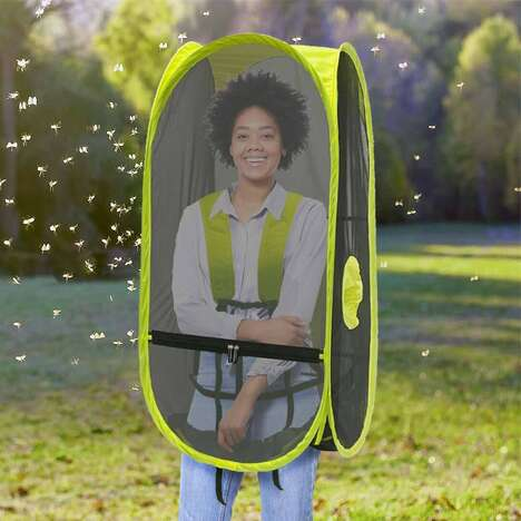 Personal Wearable Tents