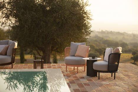 Circular Outdoor Lounge Furniture