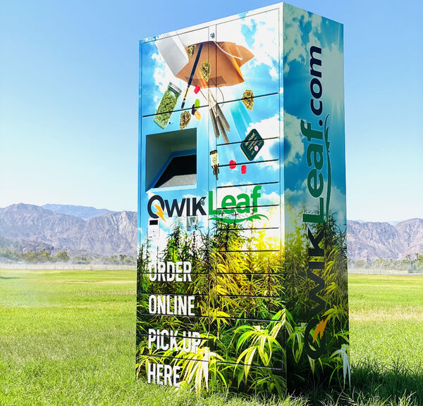 Cannabis Delivery Smart Lockers