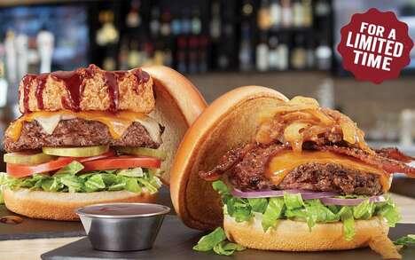Bourbon-Glazed Angus Burgers