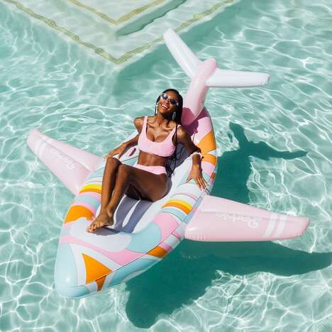 Nostalgia-Inducing Pool Floats