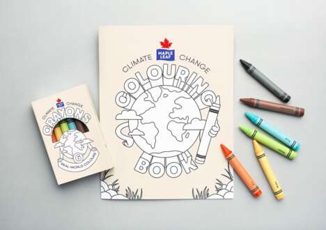 Climate Change Colouring Kits