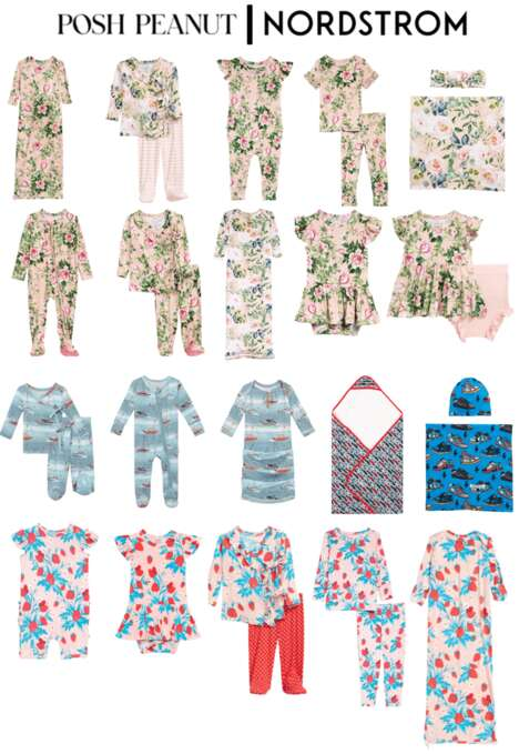 Floral Children's Pajamas