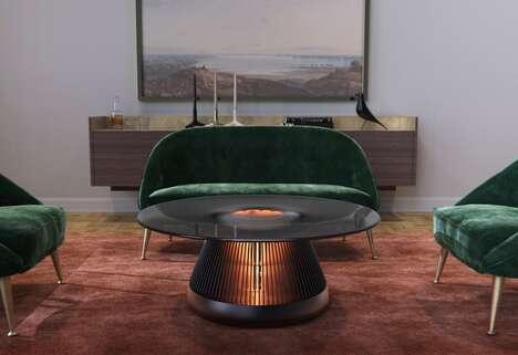 Electric Fireplace Centerpieces
