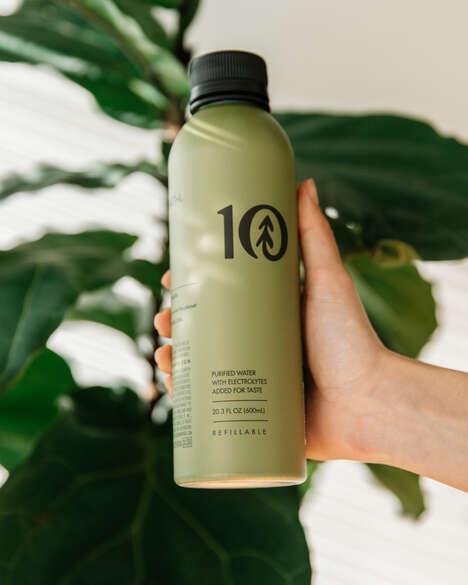 Co-Designed Refillable Bottles