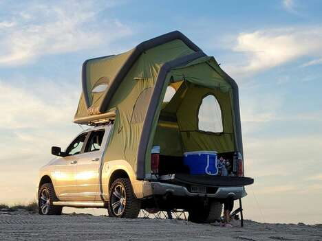 Two-Room Truck Tents