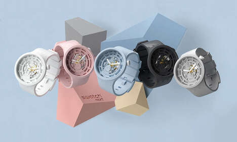 Bold Bioceramic Timepieces