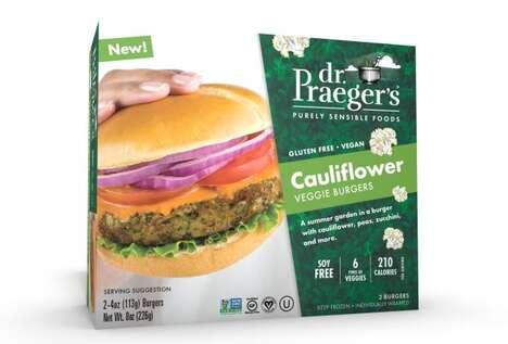 Cauliflower-Based Burgers
