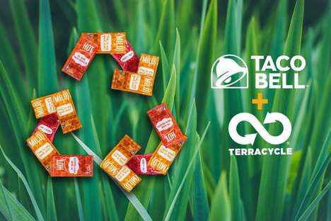Recycled Hot Sauce Packets