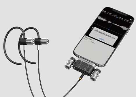 External Pro-Grade Smartphone Microphones