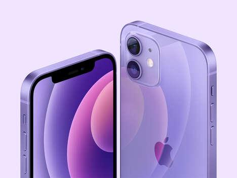 Lavender-Hued 5G Smartphones
