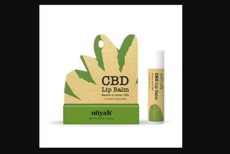 Sustainable CBD Lip Products