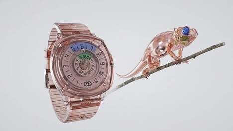 Genderless See-Through Timepieces