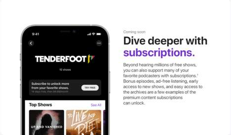Premium Podcast Subscription Services