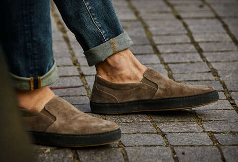 Eco-Friendly Slip-On Shoes
