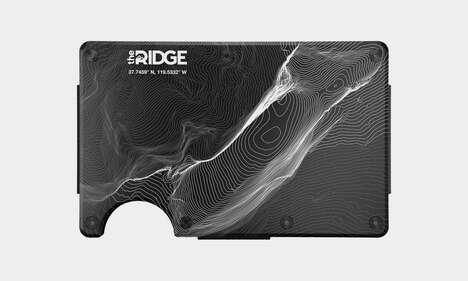 Laser-Engraved Minimalist Wallets
