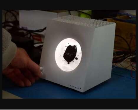 Ferrofluid Speakers