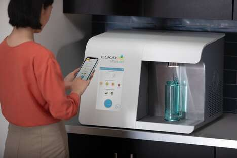 Touchless Beverage Dispensers