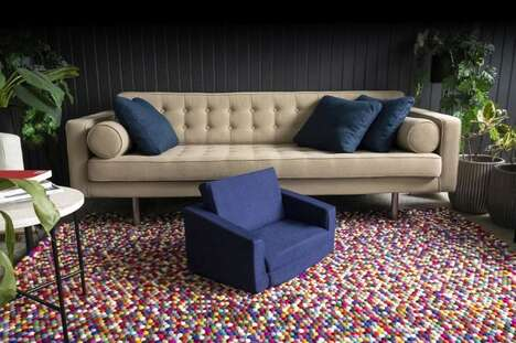 Recycled Textile Children's Furniture