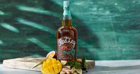 Tropically Flavored Rum Spirits