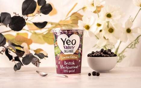Garden-Themed Yogurt Flavors