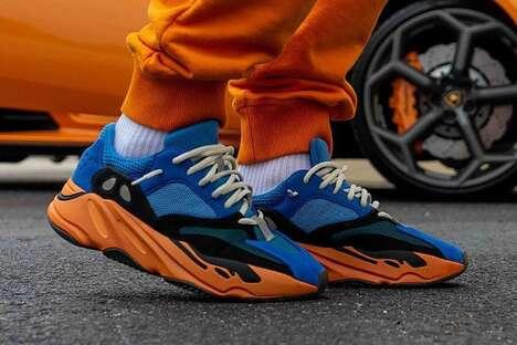 Tonal Contrast Textural Sneakers