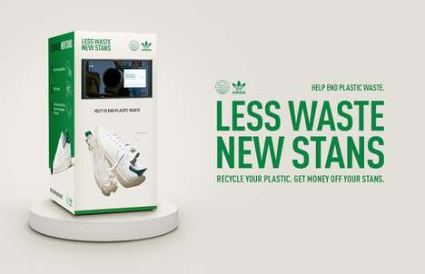 Shoe-Recycling Vending Machines